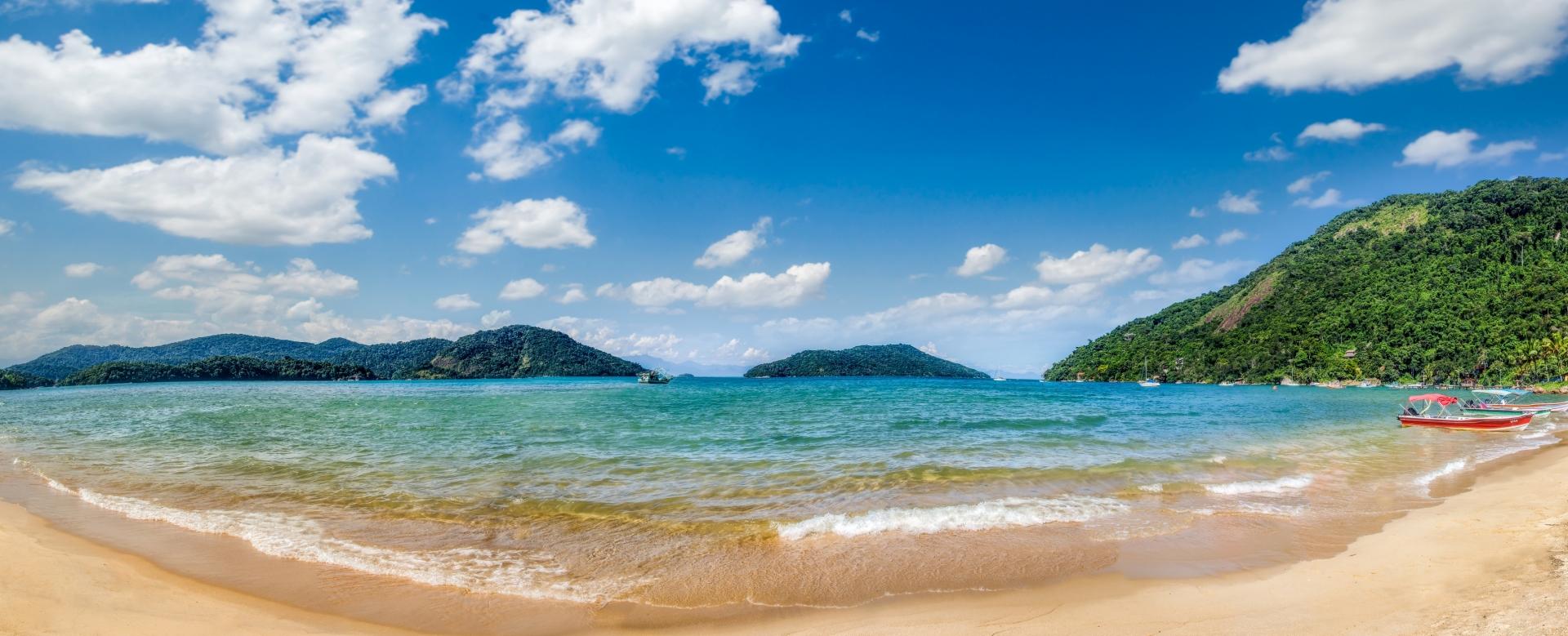 Voyage à pied : Costa verde et chutes d\'iguaçu, perles du brésil