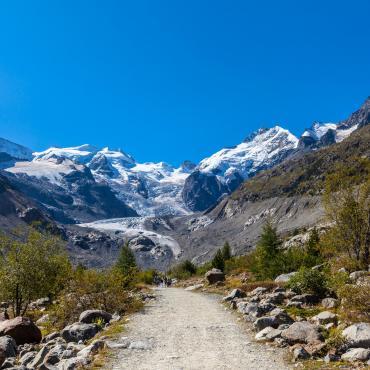 Saint-Moritz et Bernina, joyaux alpins