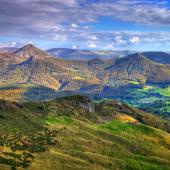 cantal : le plus grand volcan d'europe