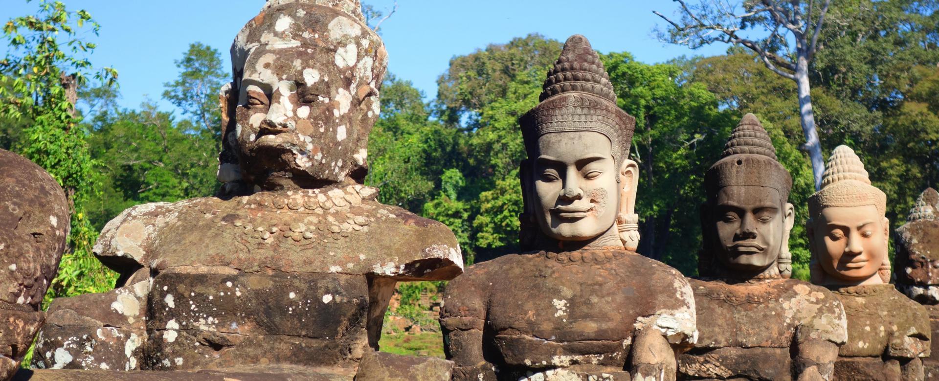 Voyage en véhicule : Cambodge : Angkor à vélo en toute liberté