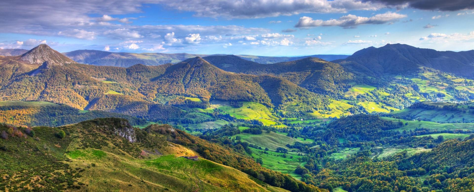 Voyage à pied : Cantal : le plus grand volcan d'europe