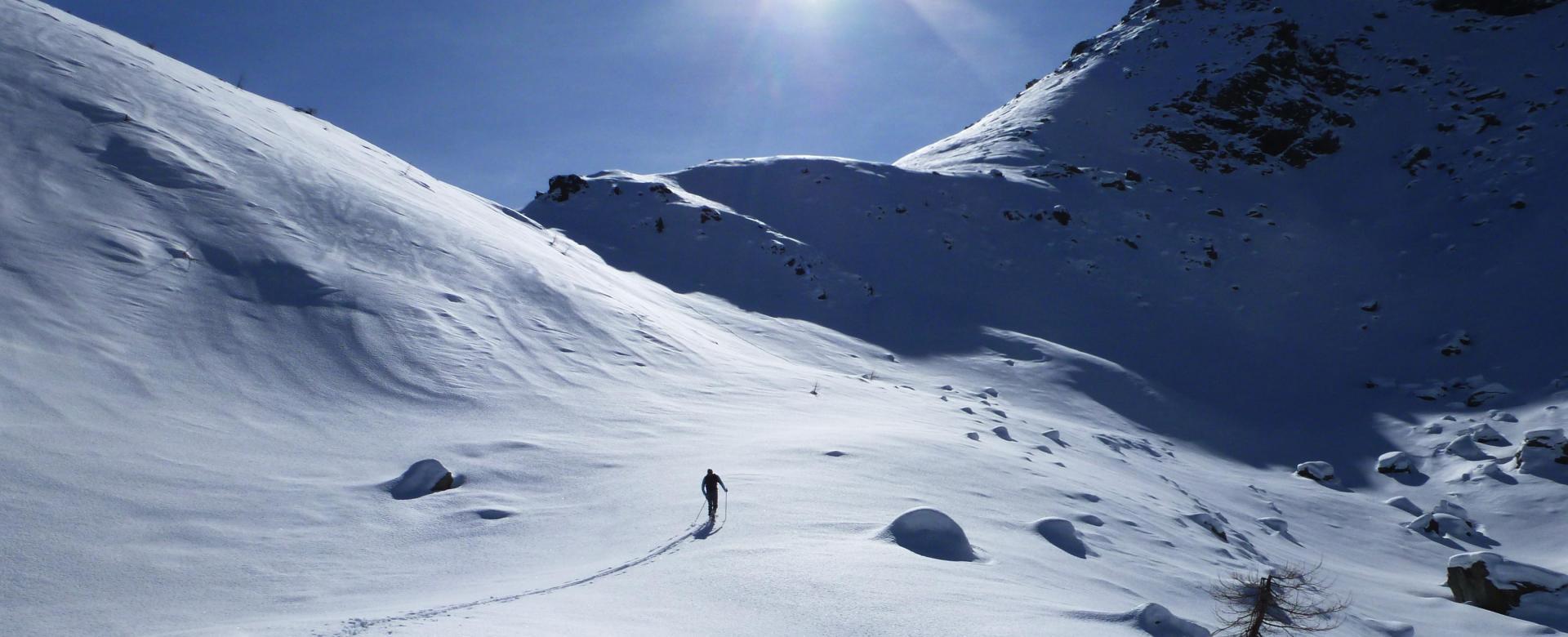 Voyage à la neige : Initiation dans le piémont italien