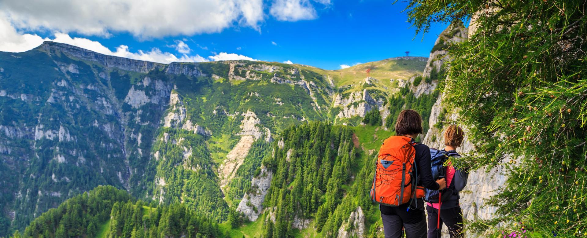 Voyage à pied : Les parcs naturels des carpates en itinérance