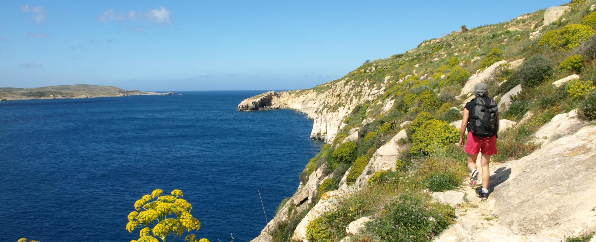 Voyage à pied : Malte et gozo