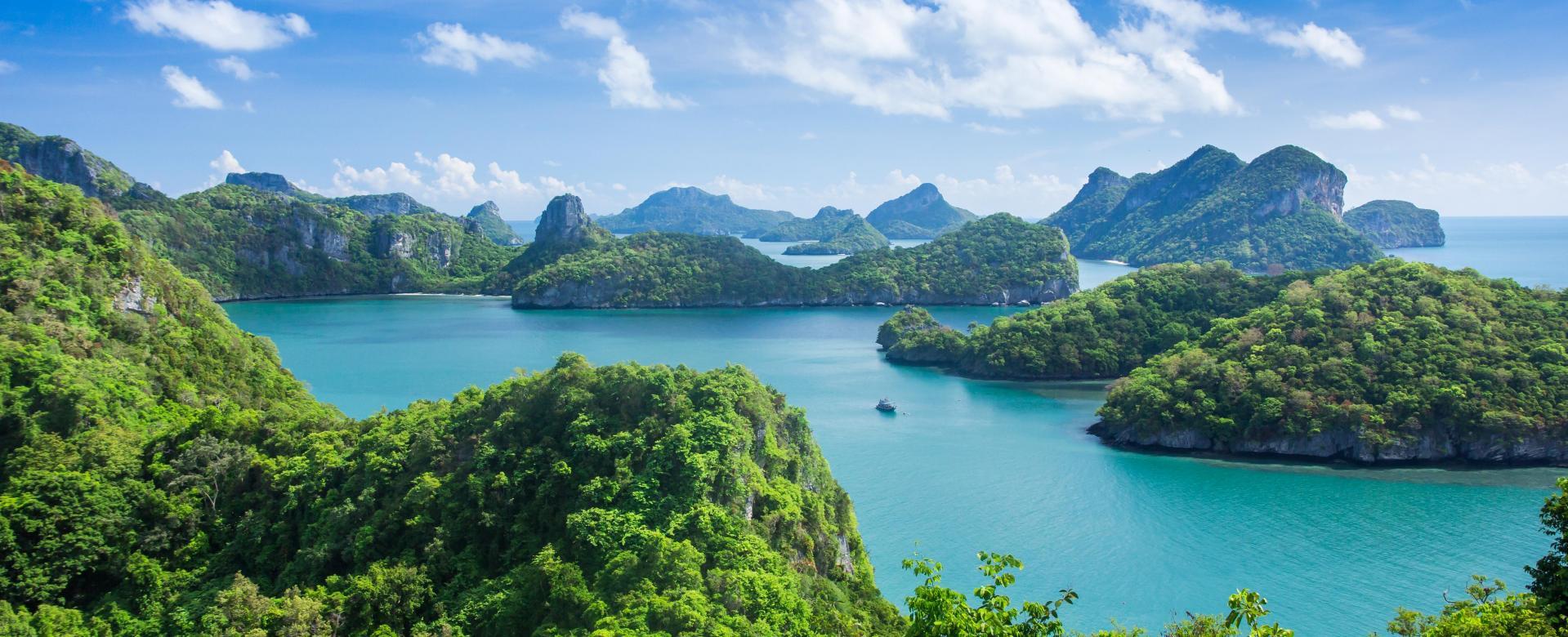 Voyage à pied : Thailande : Parcs du sud et île ko phaluai