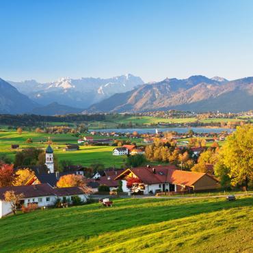 Lacs et trésors de Bavière à vélo