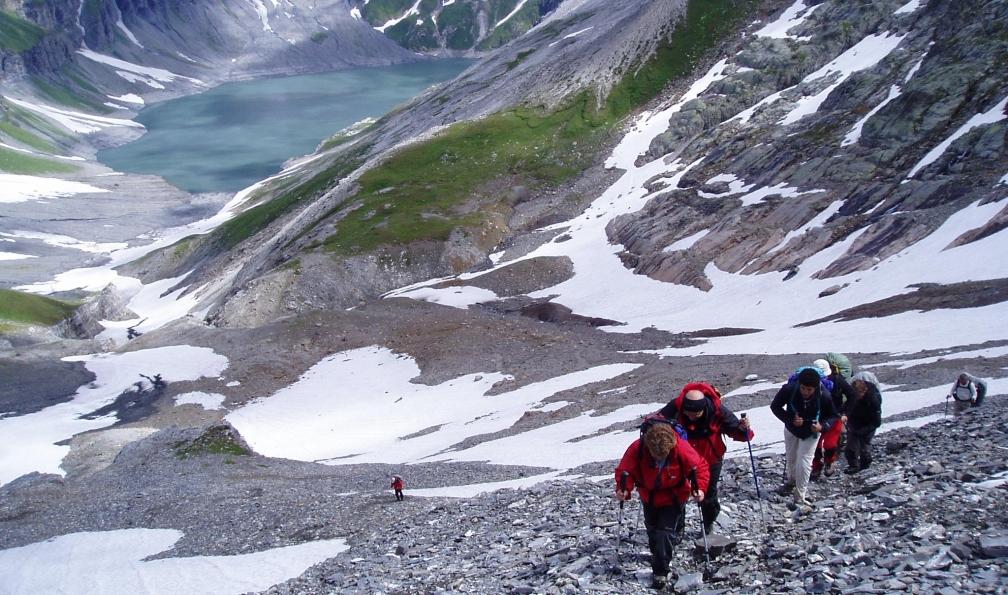 Image Aiguilles rouges, lacs et sommets
