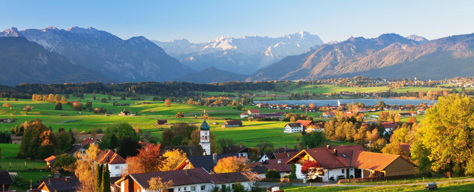 Voyage à pied Allemagne : Lacs et trésors de bavière à vélo