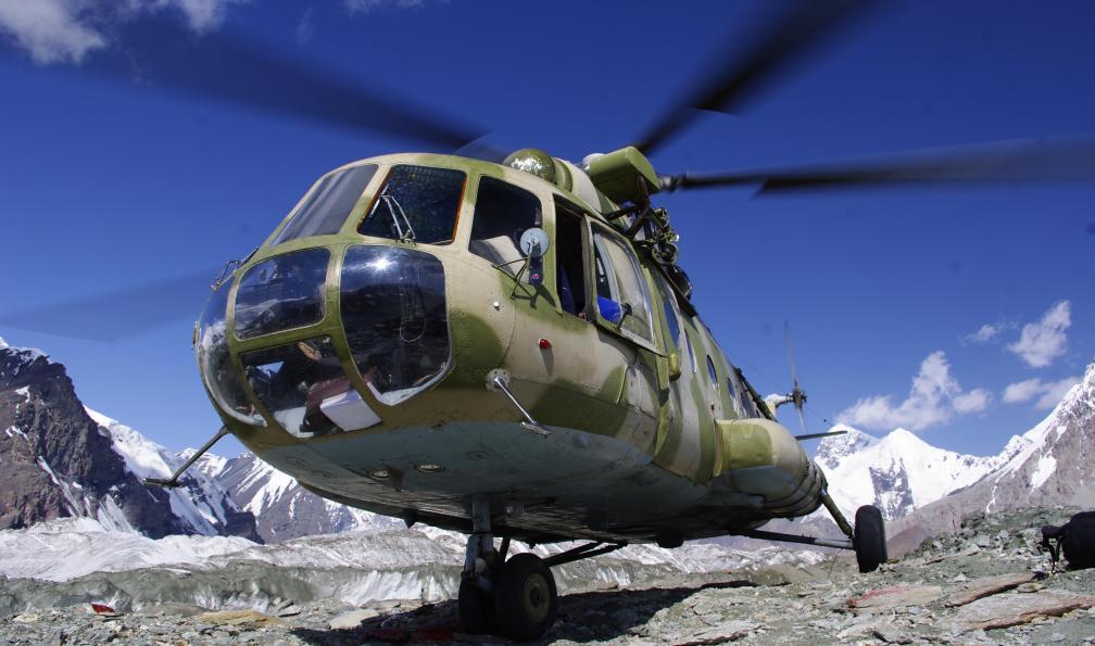 Image Trek des glaciers du khan tengri (7010 m)