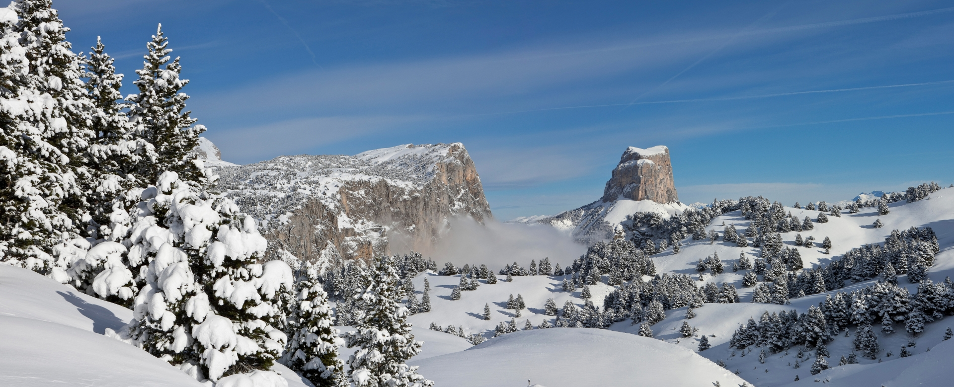 Voyage à la neige : Ski nordique en vercors