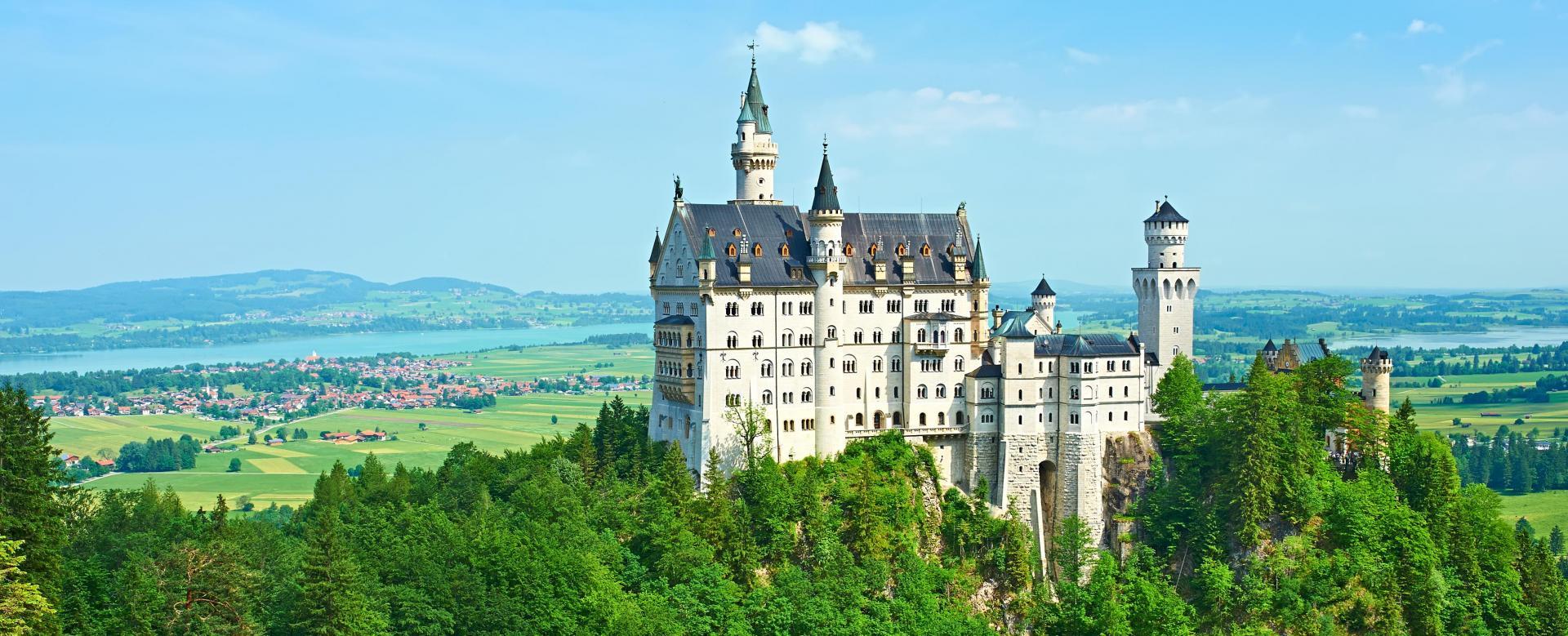 Voyage à pied : Bavière romantique et bucolique