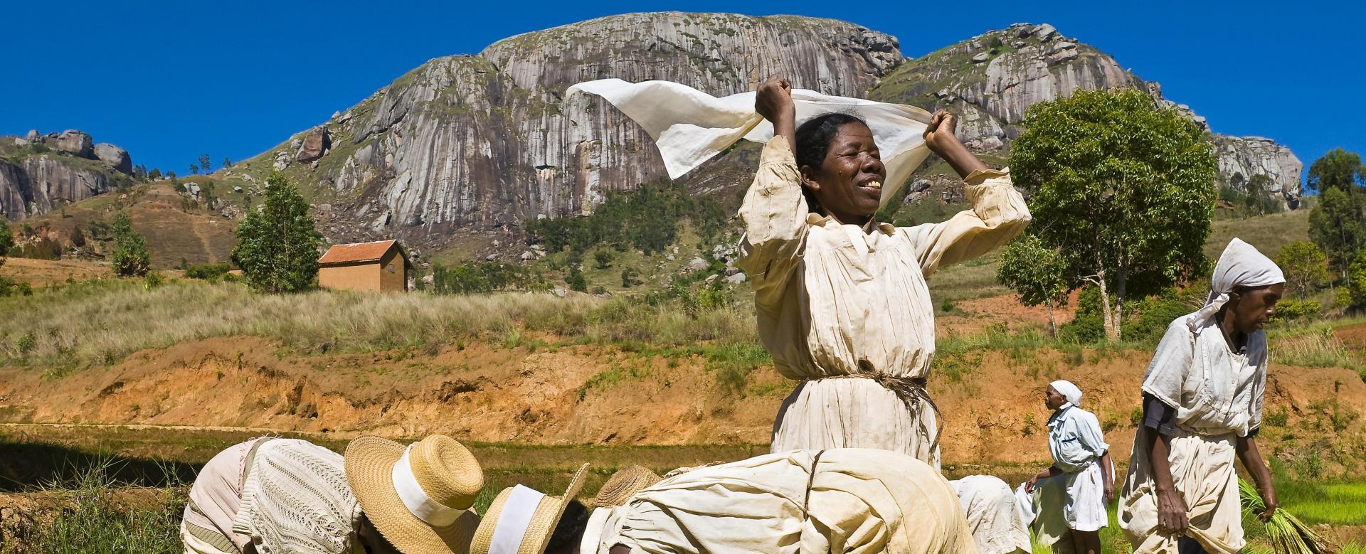 Voyage à pied : Balade en pays malgache