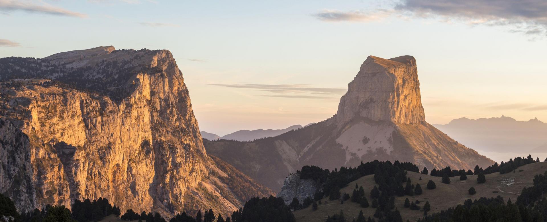 Voyage à pied : De l\'obiou au mont aiguille