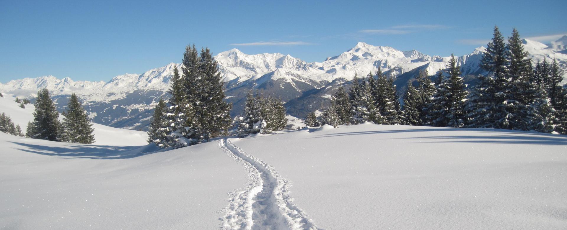Voyage à la neige : Les alpages du beaufortain