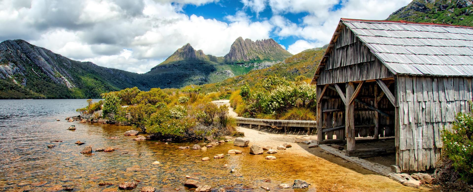 Voyage à pied : Tasmanie, terre australe