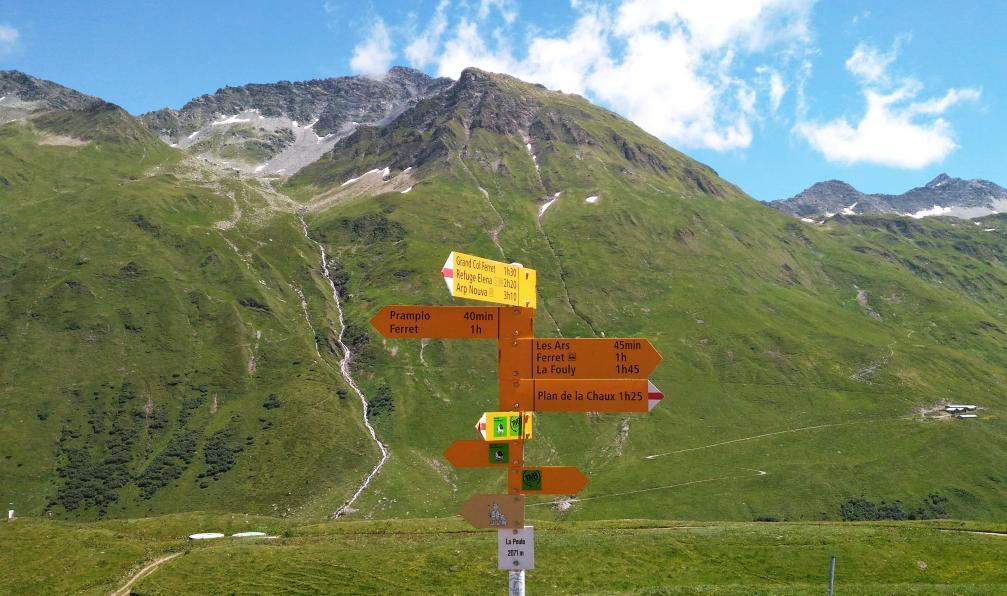 Image Hi-han au mont-blanc : deuxième étape