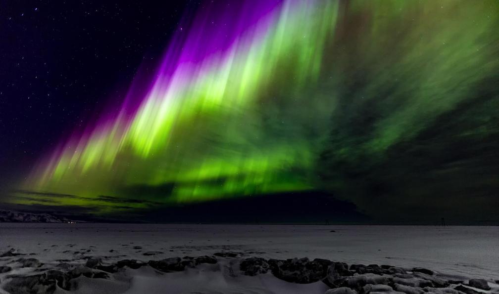 Image Au royaume des aurores boréales