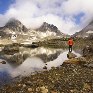Névache, vallée Etroite et mont Thabor