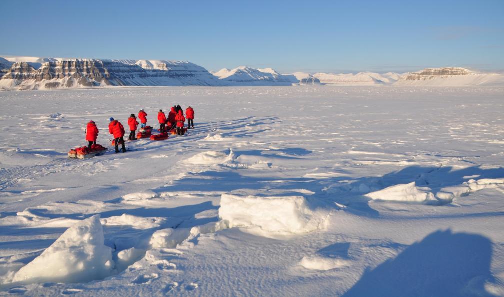 Image Sur la banquise de tempelfjord