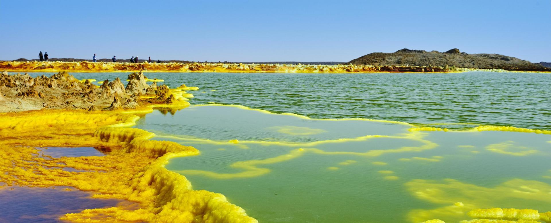 Voyage sur l'eau : Royaume d\'abyssinie et majestueux volcan dallol