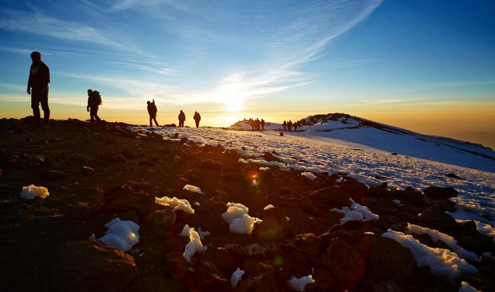 Image Traversée et ascension du kilimandjaro