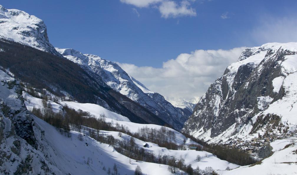 Image Tour de la meije à ski de rando