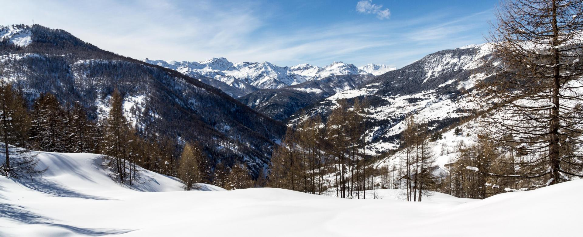 Voyage à la neige : Découverte du queyras depuis saint-véran