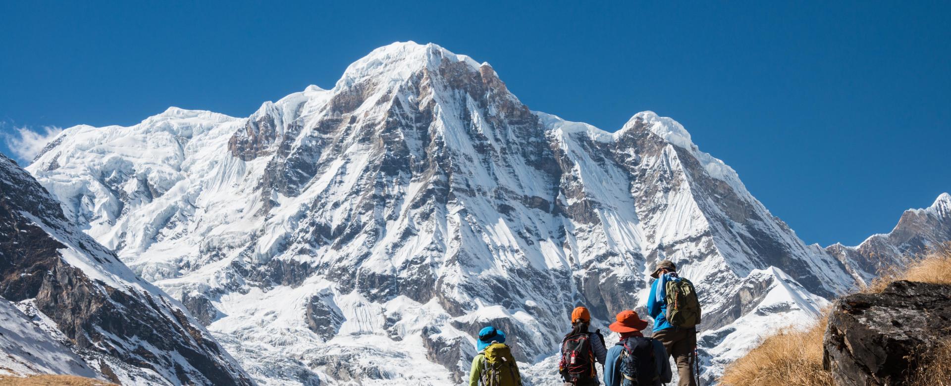 Voyage à pied : La haute route des annapurnas