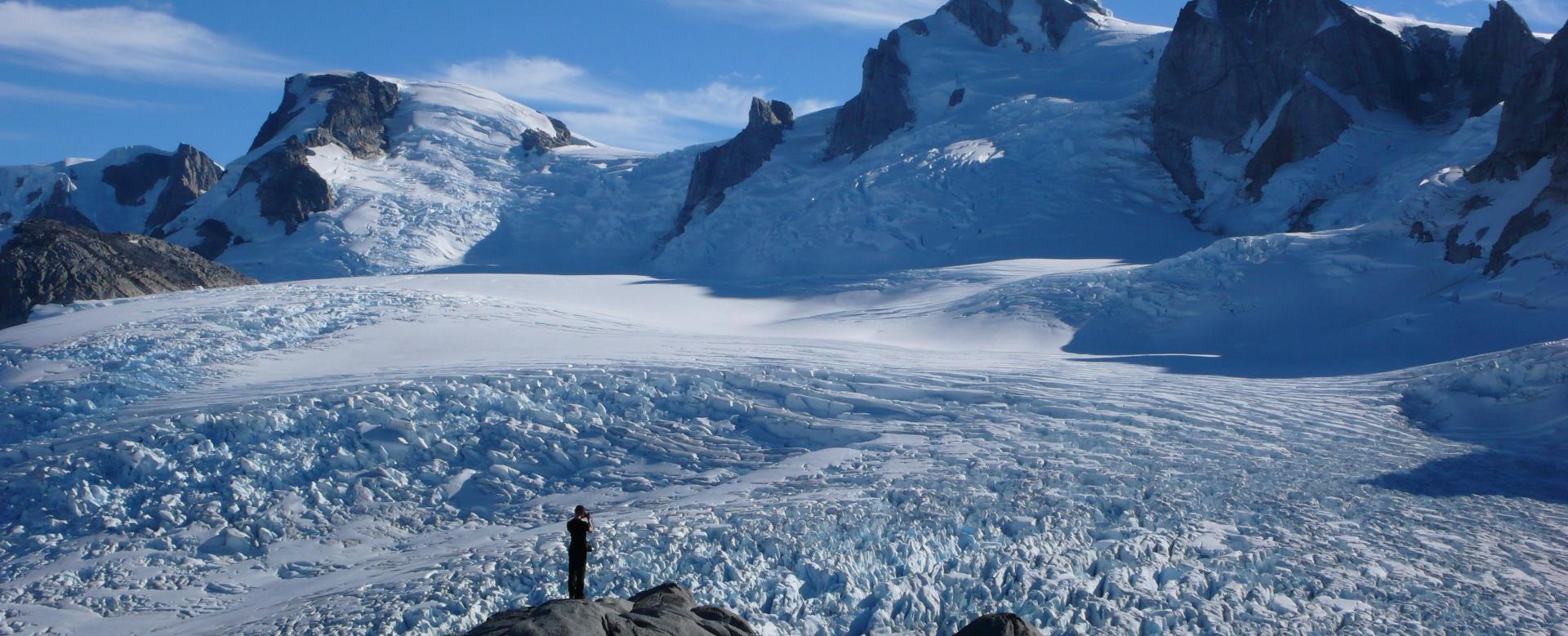 Voyage à pied : Les champs de glace du san valentín
