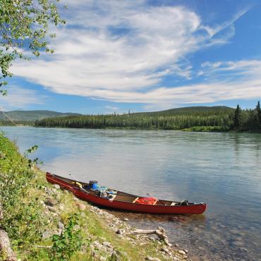 Canot sur la Yukon River