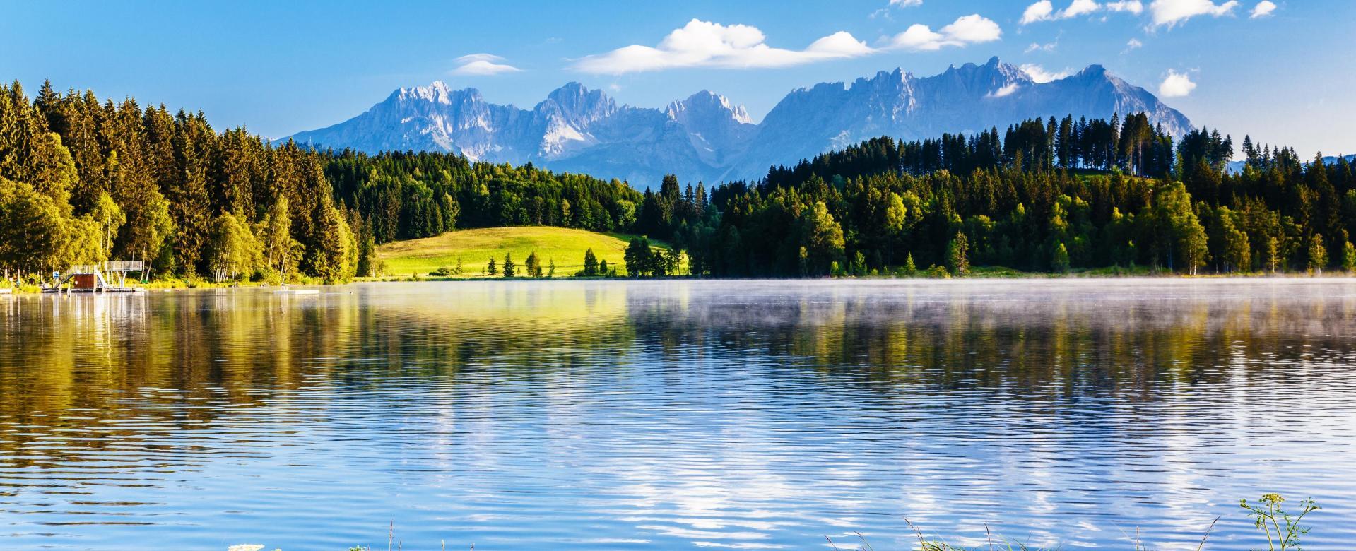 Voyage à pied : Autriche : Tyrol : le tour du kaisergebirge