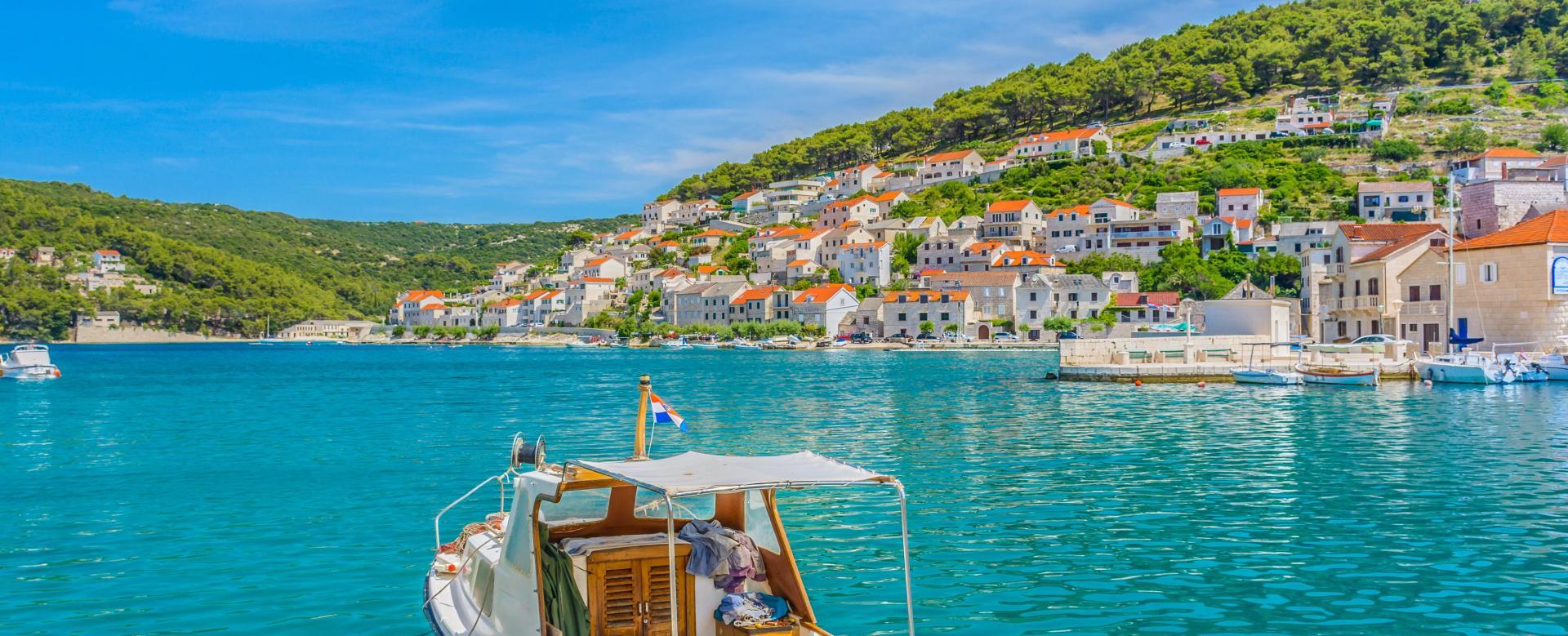 Voyage à pied : Balade en croatie