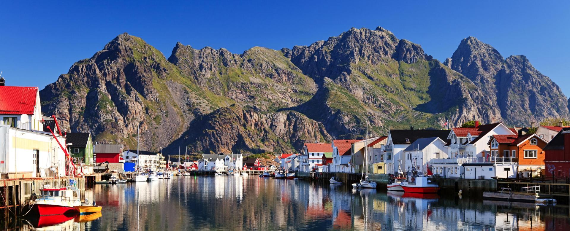 Voyage à pied : Norvège : Des fjords aux lofoten