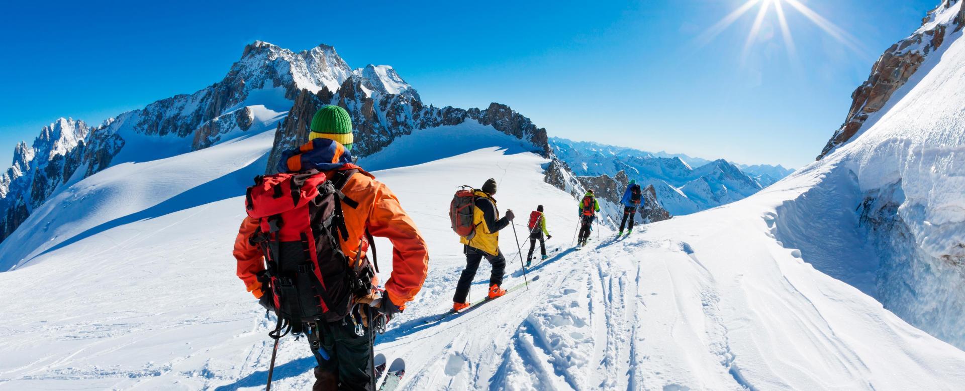 Voyage à pied : Albanie : Le pays des aigles, à skis