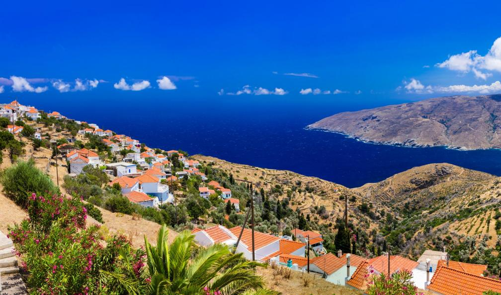 Image Cyclades : tinos et andros