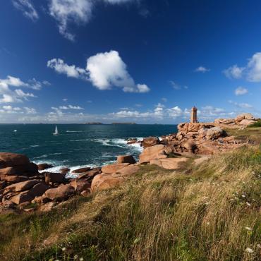 La côte de Granit Rose et l'île de Bréhat à vélo