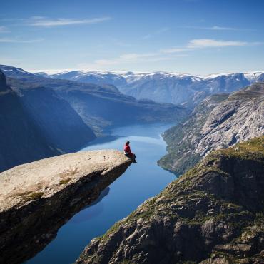 Les fjords vus d'en haut: Trolltunga et Kjerag