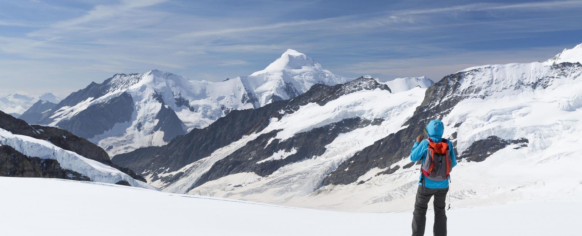 Voyage à pied Suisse : La haute route de l'oberland