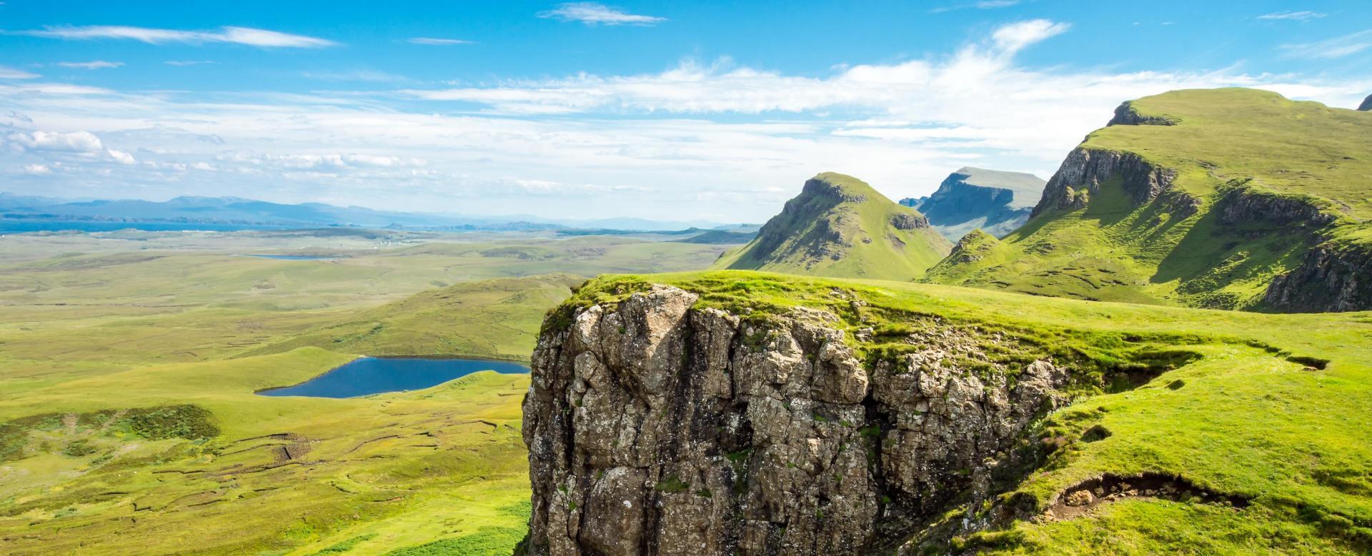 Voyage sur l'eau : Ile de skye et lochs des highlands