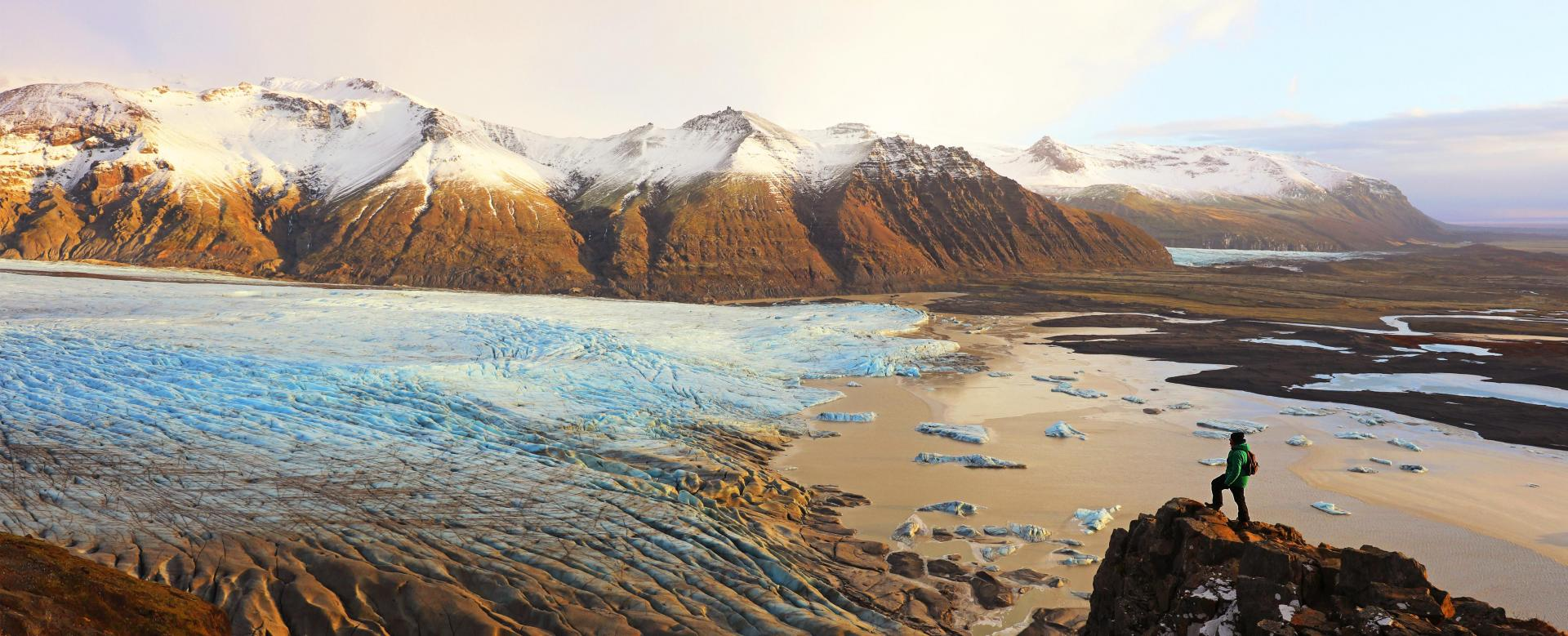 Voyage à pied : Islande : Raid entre feu et glace