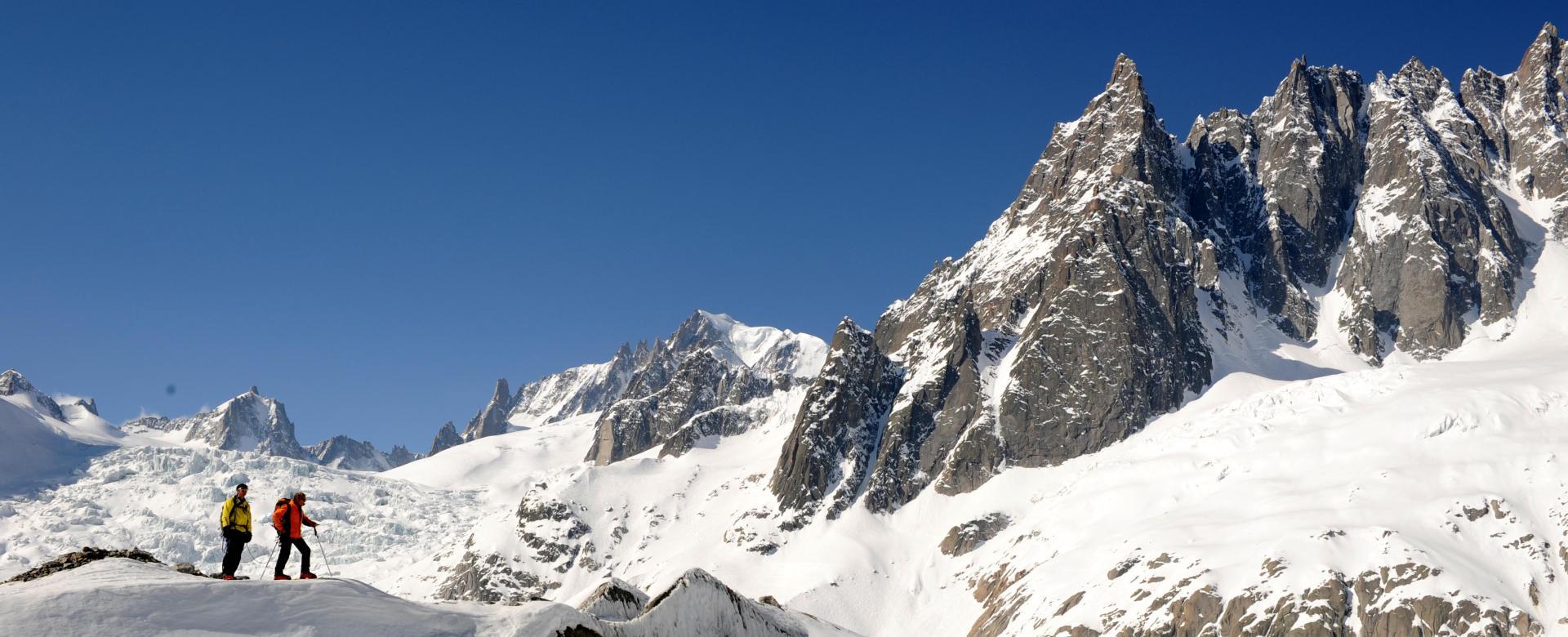 Voyage à pied France : Freerando dans le massif du mont-blanc