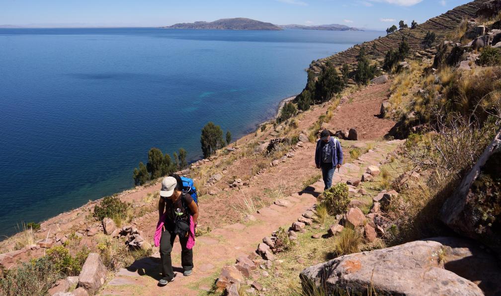 Image Vallée sacrée, lac titicaca et cordillère blanche