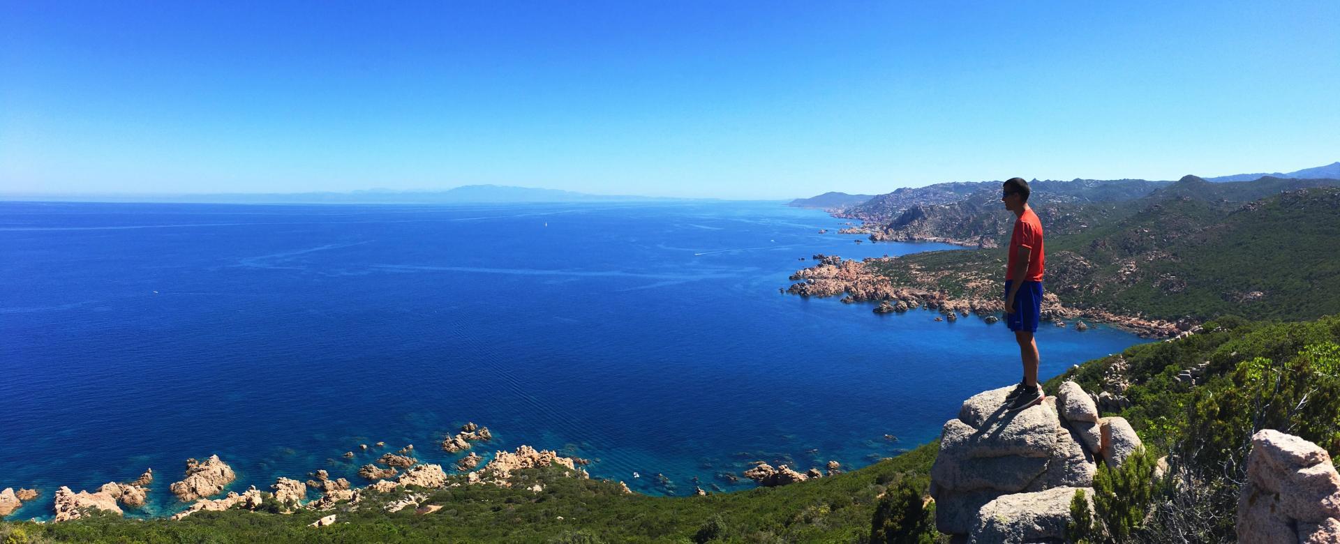 Voyage à pied Italie : Autour du selvaggio blu