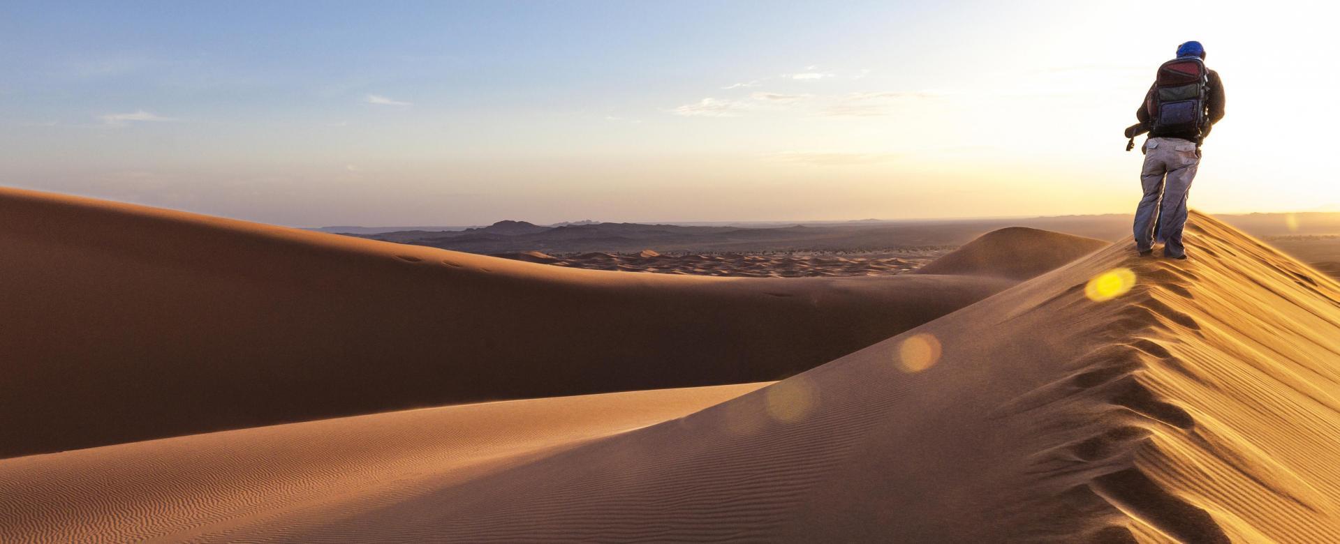 Voyage à pied : Maroc : De l'atlas au d\'sert