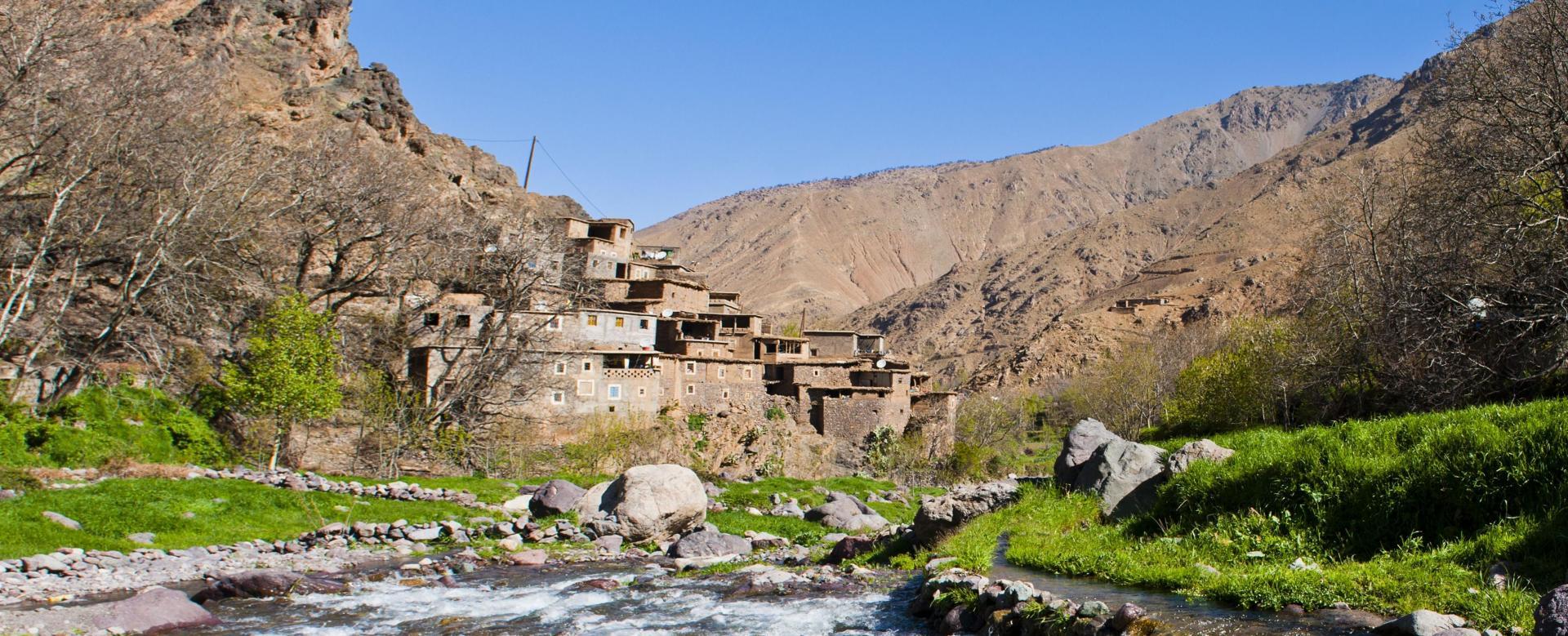 Voyage à pied : Maroc : Des villages berbères à l'atlantique