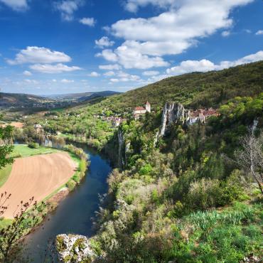 Conques-Cahors par la vallée du Célé