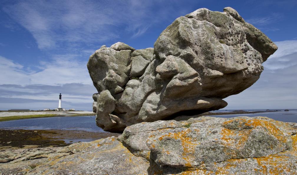 Image Pointe du raz et île de sein