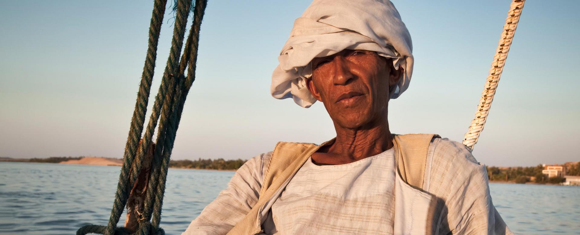 Voyage à pied : Dubai : Le nil en sandal
