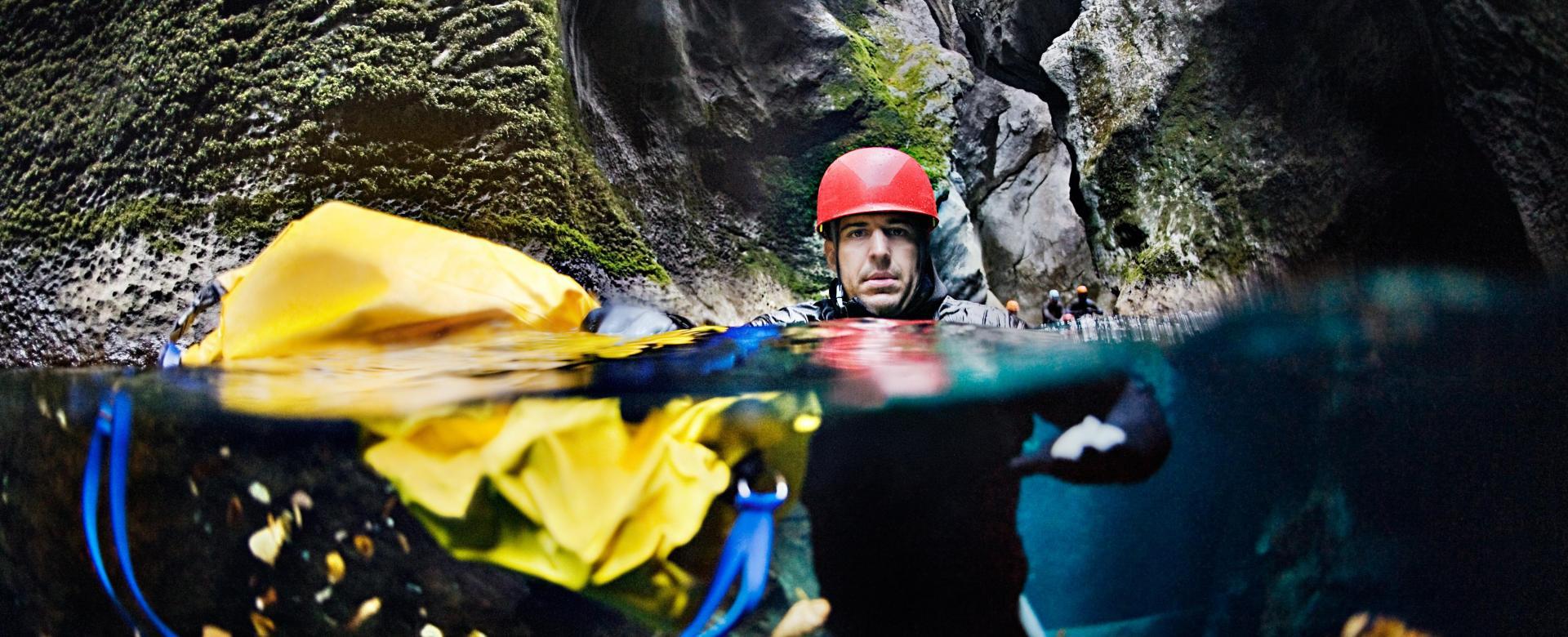 Voyage sur l'eau : Les canyons de la roya en famille
