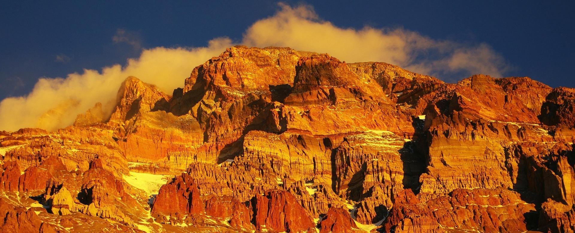 Voyage à pied : L\'aconcagua (6962 m) par la traversée